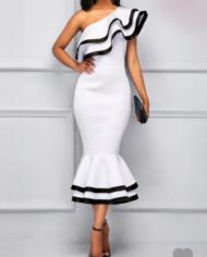Screenshot-2018-2-9 White Falbala One Shoulder Women's Bodycon Dress(2)